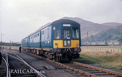 Class 100 early blue livery