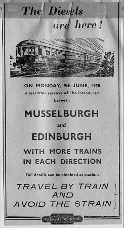 Edinburgh Suburban advert