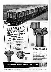 Gresham and Craven advert