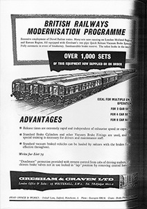 Gresham and Craven brakes advert