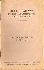 Derby Lightweight drivers manual