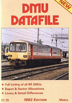 1992 DMU Datafile cover