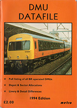 1994 DMU Datafile cover
